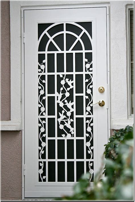 Decorative Security Screen Doors by Titan Installation Gallery Sacramento Ca Atoz Screens