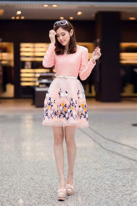 Dress Cantik Free Belt Murah mini dress motif bunga cantik terbaru model terbaru