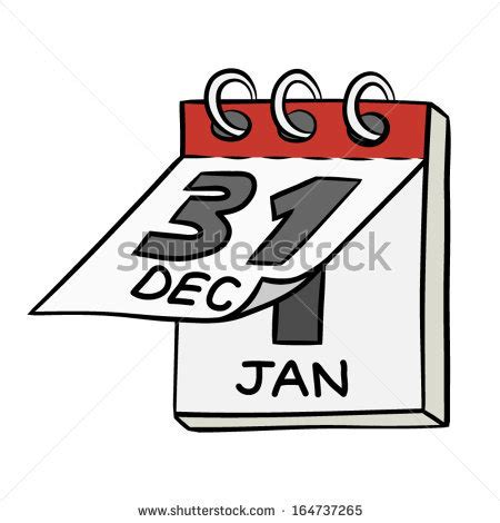 new year end date flip calendar stock images royalty free images vectors