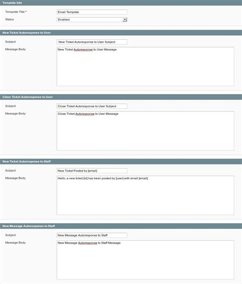 Magento Helpdesk Support Ticket System For Customer Service Help Desk Trouble Ticket Template
