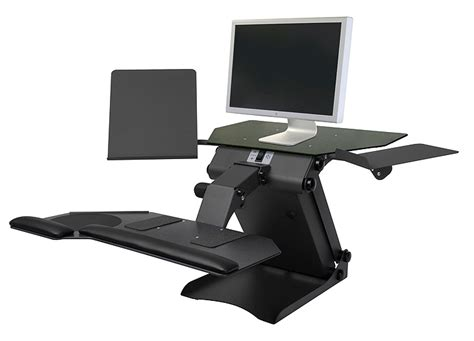 computer stands for desk desktop stand up computer stand review and photo