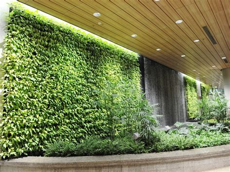 going green with vista garden wall systems architecture