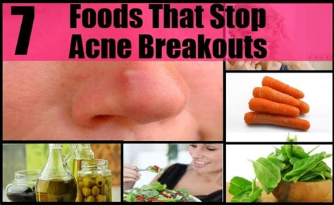 15 Top Foods To Get Rid Of Acne by 7 Top Foods That Stop Acne Breakouts How To Stop Acne