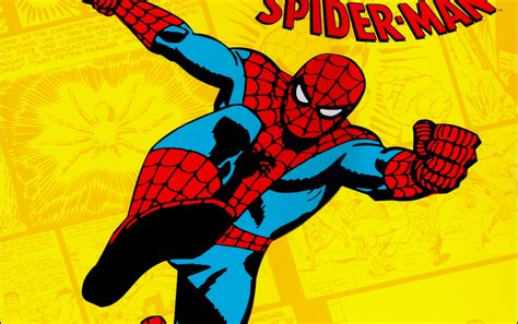 classic marvel wallpaper spider man classic wallpapers spider man classic stock