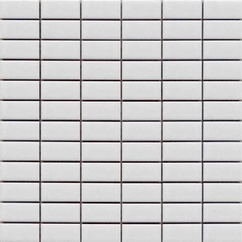white rectangle mosaic tiles