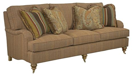 Traditional English Sofas by Traditional Sofa With English Arms And Turned Legs By