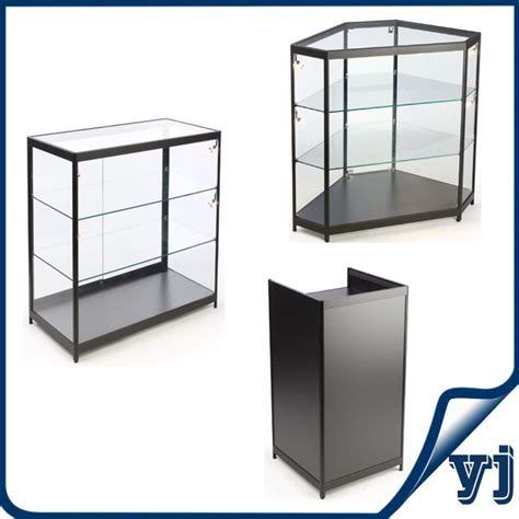 lockable glass display cabinet showcase free standing lockable glass display cabinets tower glass