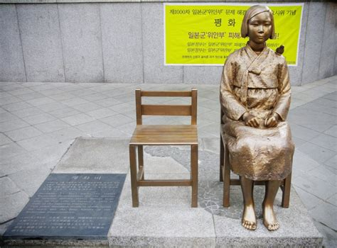 the comfort women comfort women monuments
