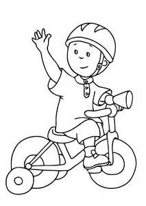 caillou coloring pages free printable coloring pages