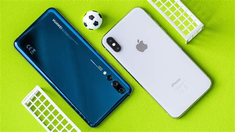iphone v huawei smartphone world cup 1 iphone x vs huawei p20 pro androidpit