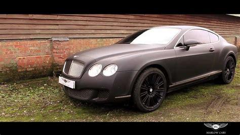 bentley suv matte black bentley continental gt speed matte black marlow cars