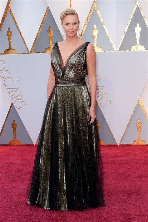 Oscars Carpet by Charlize Theron Oscars 2017 Carpet In