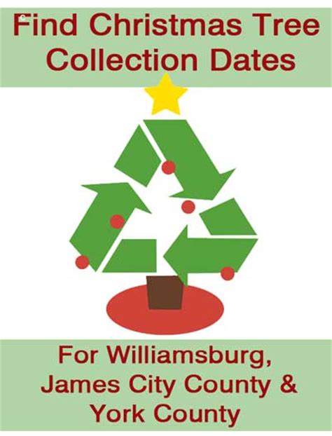 christmas tree pick up christmas tree collection and drop off williamsburg