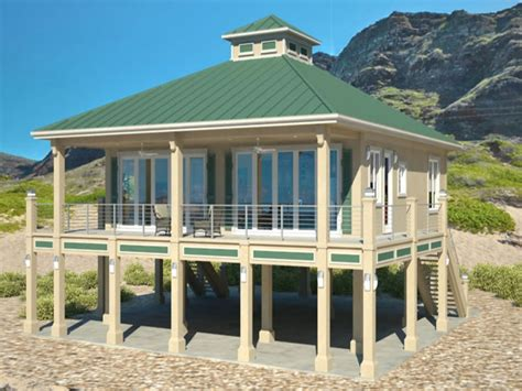 homes on pilings beach cottage house plans beach house plans for homes on