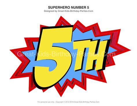 printable superhero numbers superhero printables large superhero birthday numbers