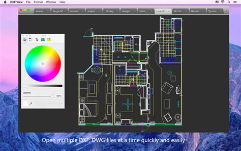 dwg format open dxf view open view dxf and dwg files macgenius