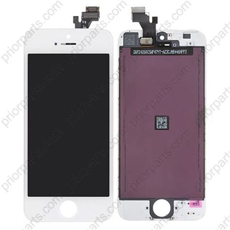 Lcd Iphone 5 White for iphone 5 display lcd screen assembly white