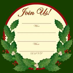 holiday party invitation clip art 63