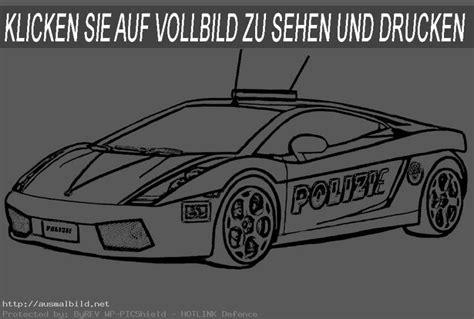 Polizeiauto Zum Malen by Polizeiauto Malvorlagen My