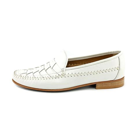 mens loafers white florsheim bridgeport n moc leather white loafer loafers