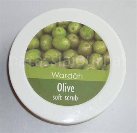 Wardah Olive Soft Scrub natassia journal wardah olive soft scrub