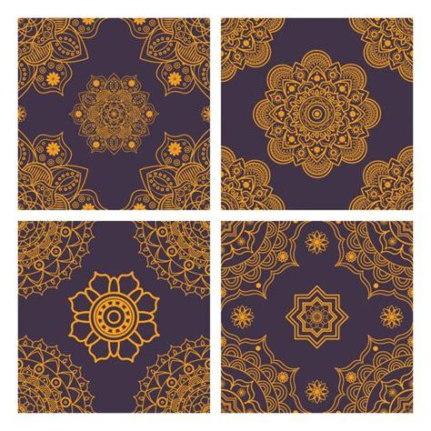 pattern mandala vector mandala patterns collection vector free download