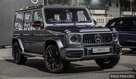 Mercedes 2019 Malaysia by Mercedes Amg G63 2019 Dilancarkan Di Malaysia 4 0 Liter