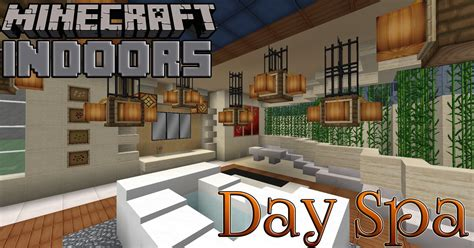 minecraft home interior ideas day spa bath house minecraft indoors interior design