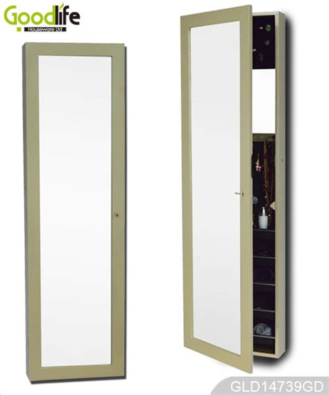 cabinet for jewelry with mail order package