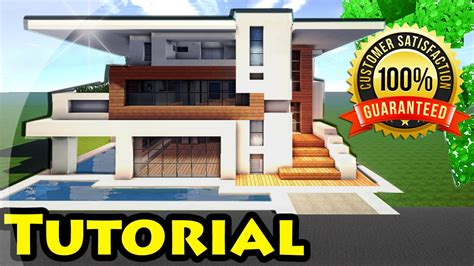 minecraft modern house tutorial minecraft easy modern house mansion tutorial 4
