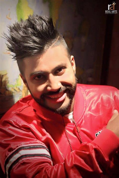new hair cutting style boy punjabi sukhe muzical doctorz tall pomp with high fade hairstyle