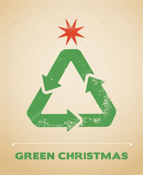 ecological christmas ecology and recycling vector background stock vector 169 marish 6939709