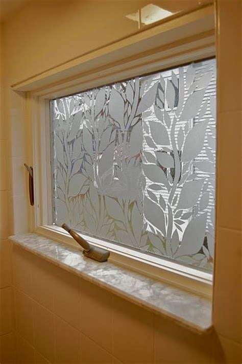 Use textured Contact Paper to cover up windows, but make