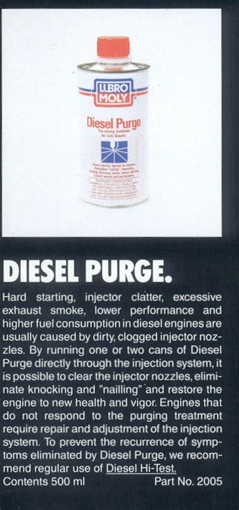running on 100 lubro moly diesel purge diesel place chevrolet and gmc diesel truck forums