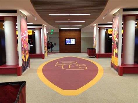 usc room images of usc s new mckay center cbssports