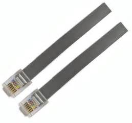 10m telephone cable rj11 to rj11 global pc