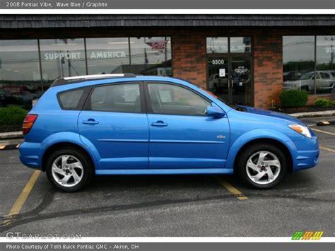 2008 Pontiac Vibe by 2008 Pontiac Vibe In Wave Blue Photo No 31362736