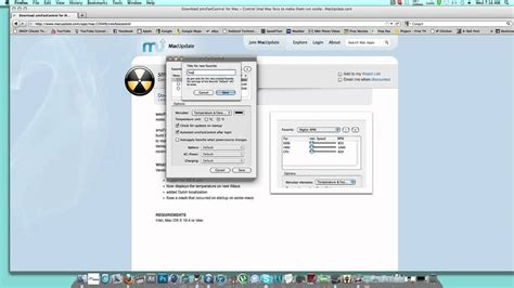 smc fan imac smcfancontrol settings for imac