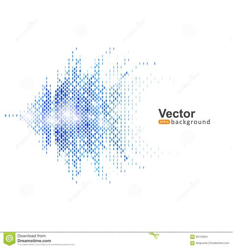 report template sound background stock vector image