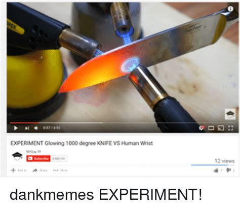 1000 Degree Knife Meme