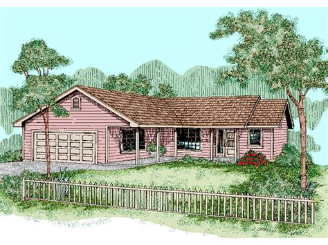 gambrill garden ranch home plan 085d 0500 house plans
