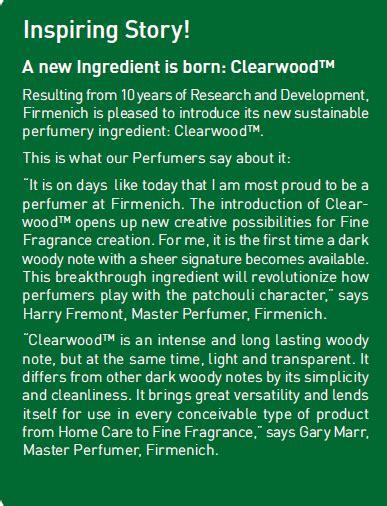 Minyak Nilam Sulawesi Tenggara clearwood by firmenich pengganti minyak nilam ano
