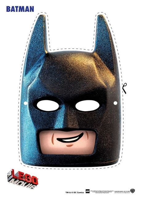 free lego movie masks to print free the lego movie