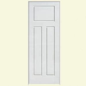3 Panel Craftsman Interior Door Masonite Solidoor Glenview Smooth 3 Panel Craftsman Solid Primed Composite Single Prehung