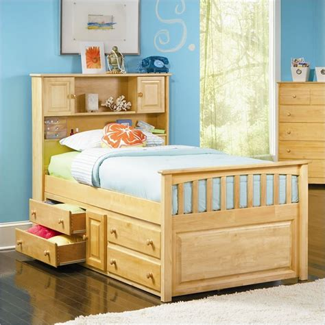captain bed with storage captain beds with storage for children room railing