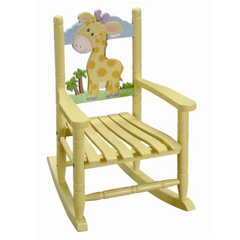 Toddlers Rocking Chair by Baby Giraffe Rocking Chair Rosenberryrooms