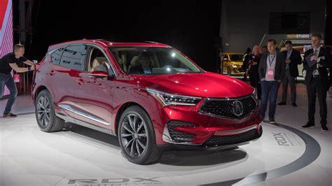 Acura Rdx 2019 Vs 2020 by 2019 Acura Rdx Prototype Packs More Power More Luxury