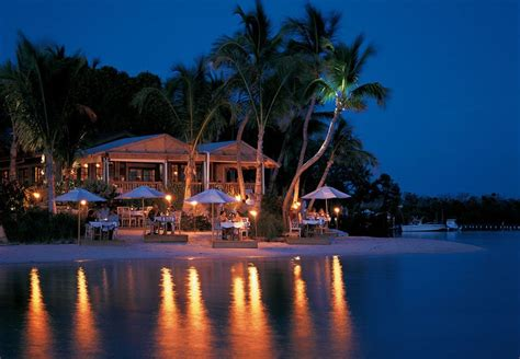 The Dining Room At Little Palm Island This Secluded Beachfront Restaurant In Florida Is One Of