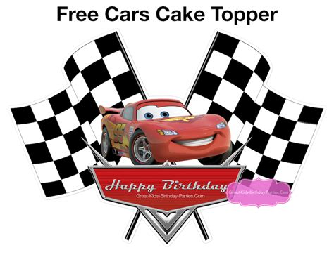 Home Design Store Names by Disney Cars Cake