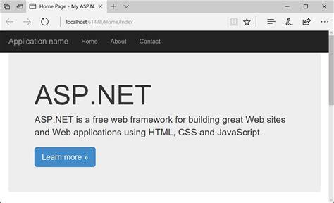 creating asp net website in c create an asp net framework web app in azure microsoft docs